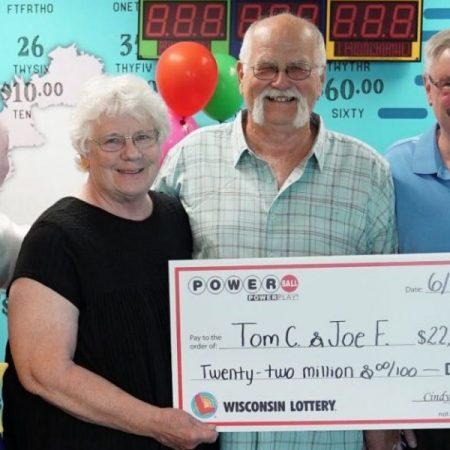 Победа в лотереи принесла 22 млн. долларов