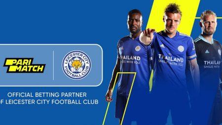 Parimatch официальный партнер Leicester City