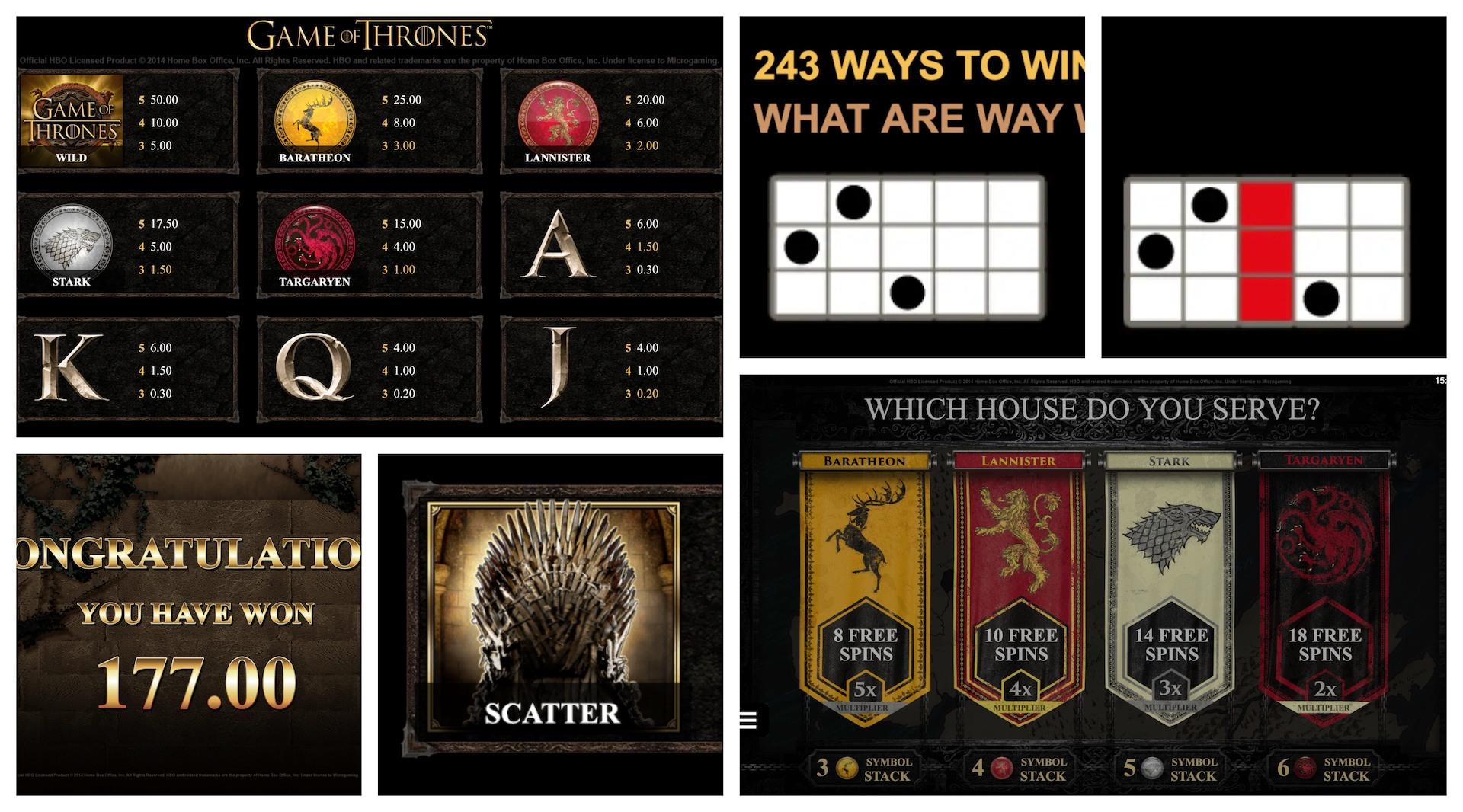 Играть Game of Thrones бесплатно