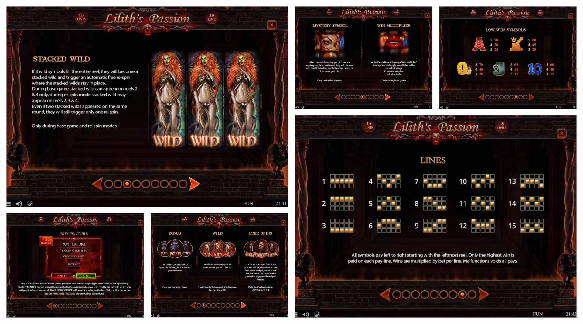 Слот Lilith's Passion играть бесплатно